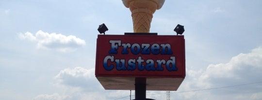 Andy's Frozen Custard is one of Randallynn 님이 좋아한 장소.