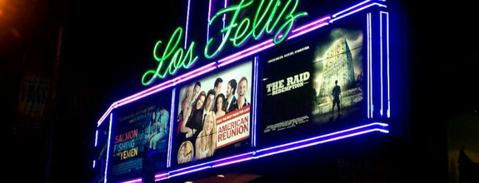 Vintage Los Feliz 3 Cinemas is one of Cali.