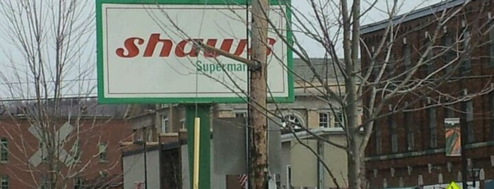 Shaw's is one of Vermont.