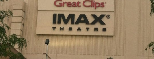 Great Clips IMAX Theater is one of All The Places I Can Think of That I've been.