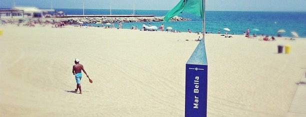 Platja de la Mar Bella is one of Barcelona, baby!.