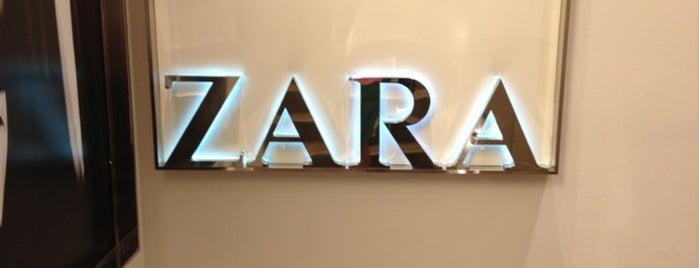 Zara is one of Paris.
