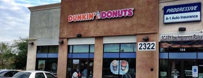 Dunkin' is one of B : понравившиеся места.