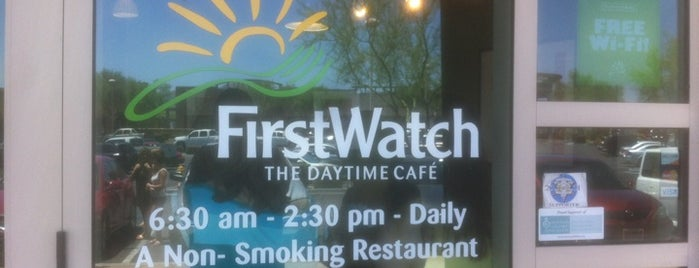 First Watch is one of Breakfast PHX.