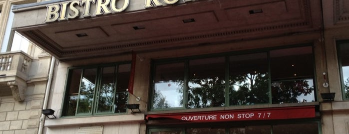 Bistro Romain is one of Lugares favoritos de Mehmet.