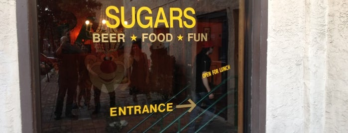 Sugar Mom's is one of Restaurants & Bars With Extracurriculars.