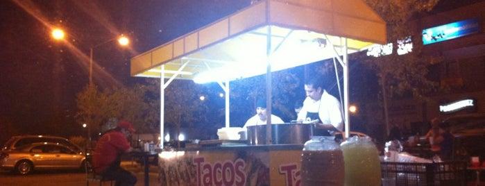 Tacos La Diagonal is one of Tempat yang Disukai Liliana.