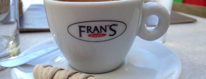 Fran's Café is one of Orte, die Mauricio gefallen.