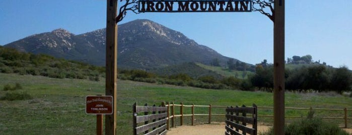 Iron Mountain Trailhead is one of SD.
