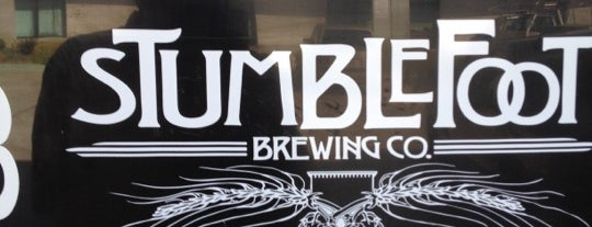 Stumblefoot Brewing is one of San Diego.