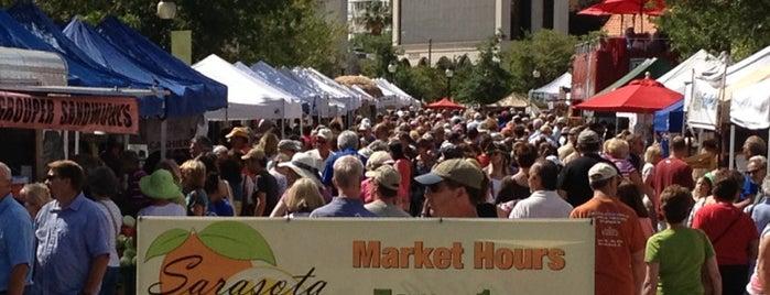 Sarasota Farmers Market is one of RESTAURANTS II.