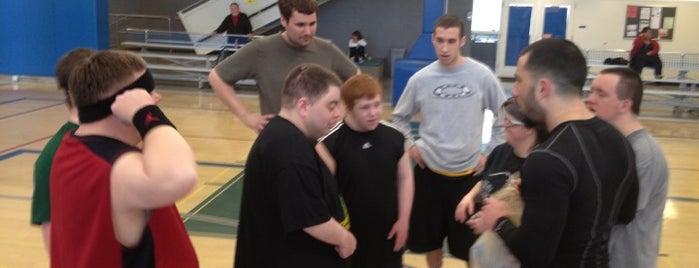 THPRD Basketball Court #2 is one of Andrew : понравившиеся места.