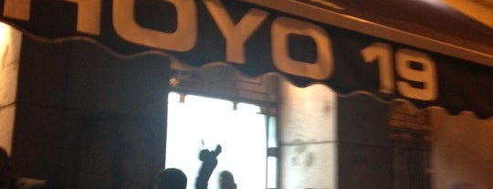Hoyo 19 is one of Madrid Gourmand.