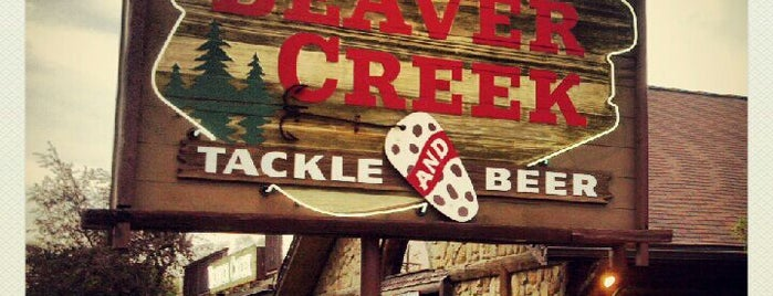 Beaver Creek Tackle and Beer is one of The burbs.