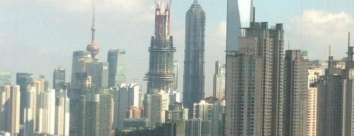 Sheraton Grand Shanghai Pudong Hotel & Residences is one of Nutcha 🍀: сохраненные места.