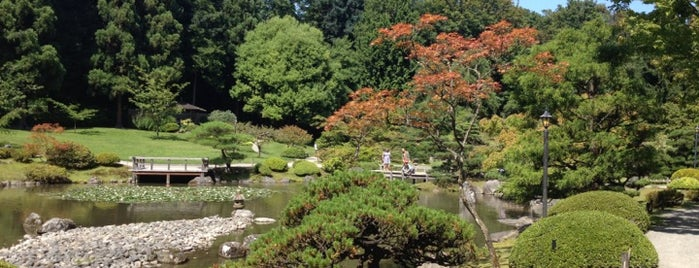 Japanese Gardens is one of Seattle.