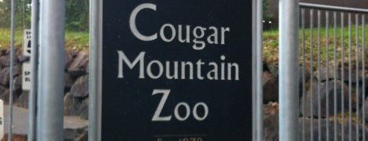 Cougar Mountain Zoo is one of Issaquah, WA.