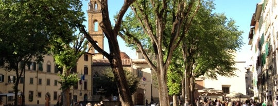 Piazza Santo Spirito is one of Florence See.