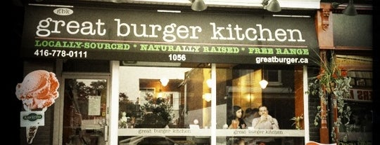 Great Burger Kitchen is one of Quick Foods.