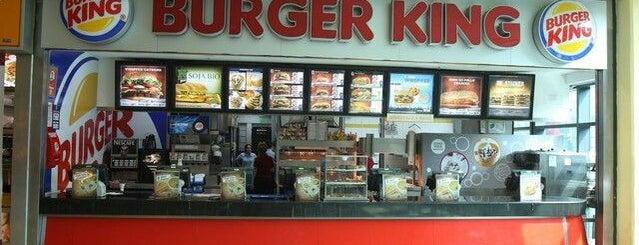 Burger King is one of Tempat yang Disimpan Rodrigo.