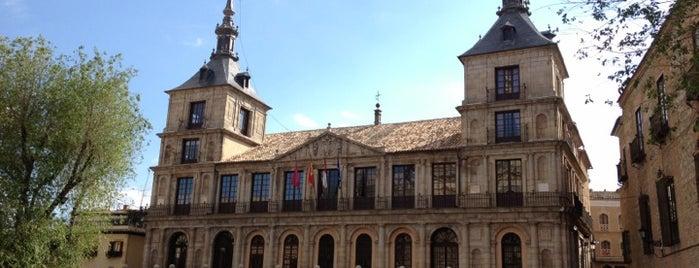 Ayuntamiento de Toledo is one of Toledo.