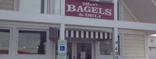 Max's NY Bagels is one of Nicole : понравившиеся места.