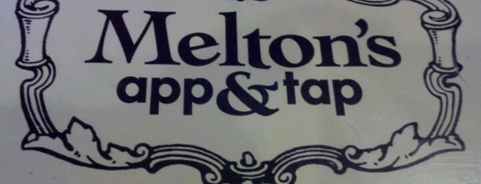 Melton's App and Tap is one of Georgia Burger Joints.