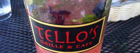 Tello's Grille and Cafe is one of Georgeさんの保存済みスポット.