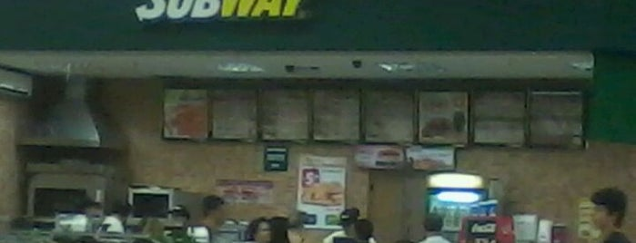 Subway is one of locais.