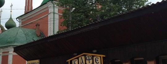 Кафе-Блинная is one of Tempat yang Disukai Artemy.