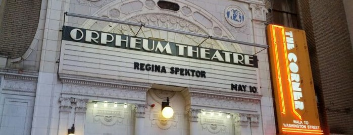 Orpheum Theatre is one of Establishments I have been to.