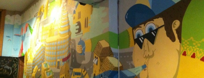Les Super Filles du Tram is one of Funky Brussels.