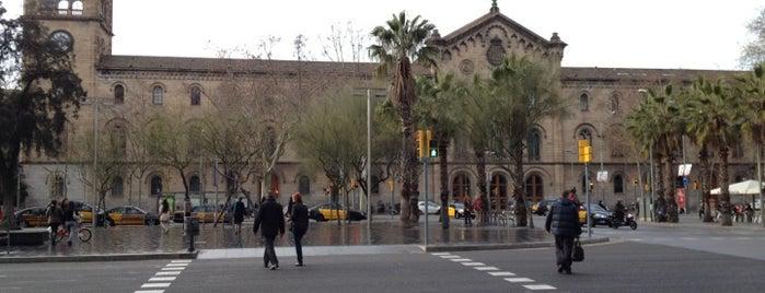 Plaça de la Universitat is one of Barcelona.