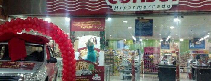 Hipermercado Consul is one of Tempat yang Disukai Thiago.