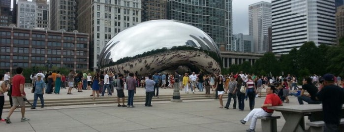 Cloud Gate by Anish Kapoor is one of Revisiting the Great Road Trip to SD.