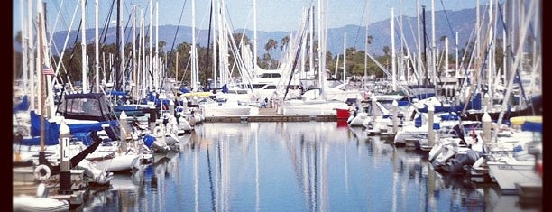 Santa Barbara Harbor is one of LA.