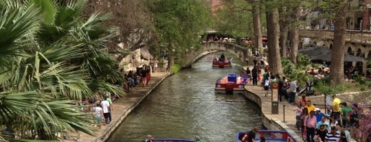 The San Antonio River Walk is one of US Landmarks.