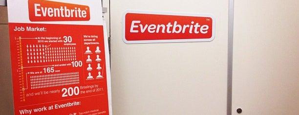 Eventbrite HQ is one of Startups World.
