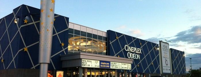 Cineplex Cinemas is one of Ottawa.
