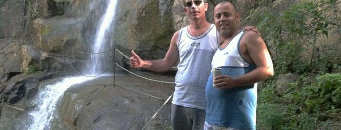 Cachoeira Fonte das Aguas is one of Gespeicherte Orte von Amanda.