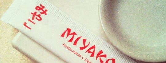 Miyako is one of Opciones Vegan.