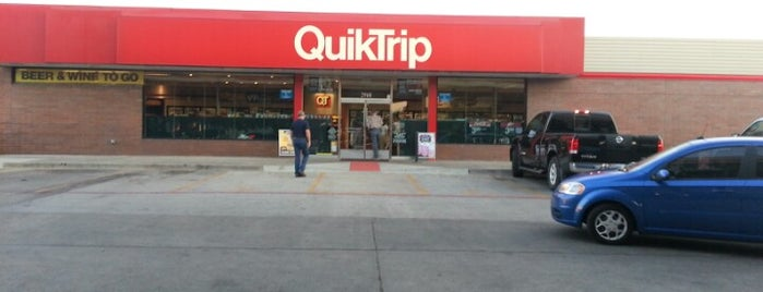 QuikTrip is one of Tre's Liked Places.