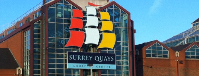 Surrey Quays Shopping Centre is one of Souzanna : понравившиеся места.