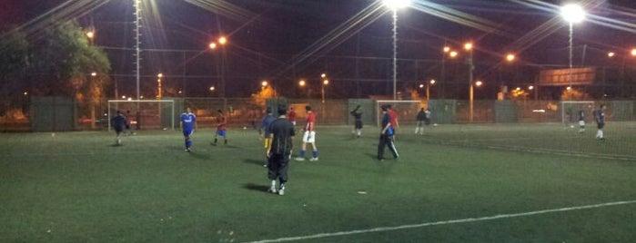 Soccerarena is one of Tempat yang Disukai Alberto.