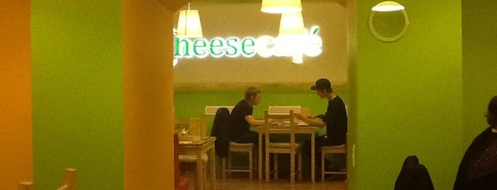 Cheesecafe is one of Alinaさんの保存済みスポット.