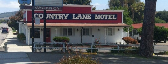 Country Lane Motel is one of Northern CALIFORNIA: Vintage Signs.