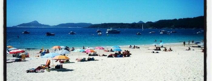 Praia de Nerga is one of Galicia.