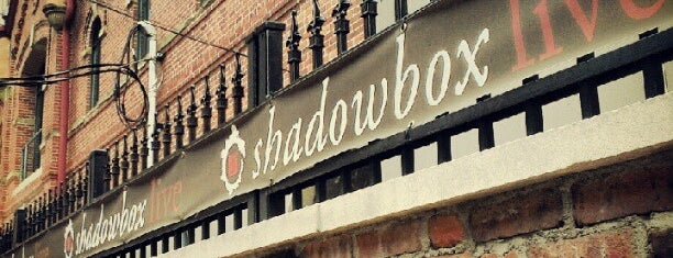 Shadowbox Live is one of Brewery District.