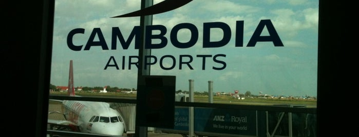 Aéroport international de Phnom Penh (PNH) is one of Places around da world....