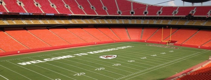 Arrowhead Stadium is one of NFL stadiums.